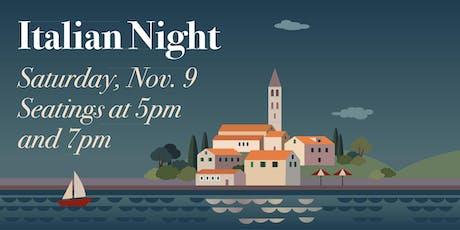 Ascension Centennial Supper: Italian Night tickets