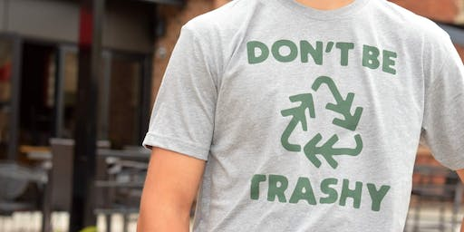 """Don't Be Trashy""- DNA's Trash Clean-up/Nature Hike at Hammel Woods"