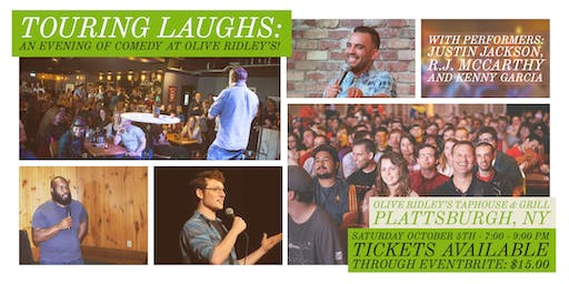 Touring Laughs: An Evening of Comedy at Olive Ridley's