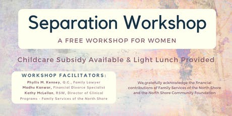 Separation Workshop tickets
