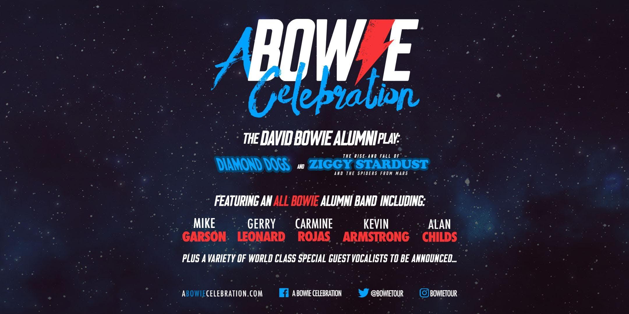 A Bowie Celebration Bowie Alumni Play Diamond Dogs & Ziggy Stardust