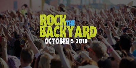 ROCK THE BACKYARD tickets