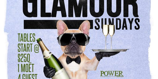 The RETURN Of #GlamourSundays @ POWER DC! Free Entry, Free Drinks, FUN!
