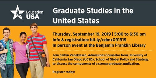 Graduate Studies in the U.S. with UCSD