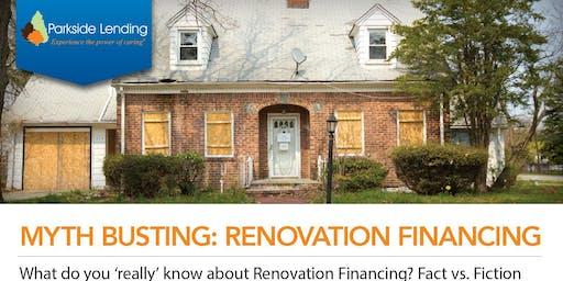 Renovation Loans Lunch & Learn for Realtors