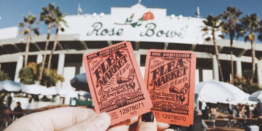 Rose Bowl Flea Market | Sunday, March 8th