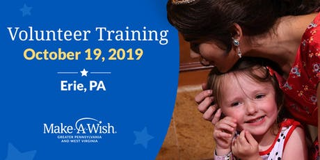 Make-A-Wish Volunteer Training - Erie, PA tickets