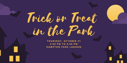 Trick or Treat in the Park Halloween Event