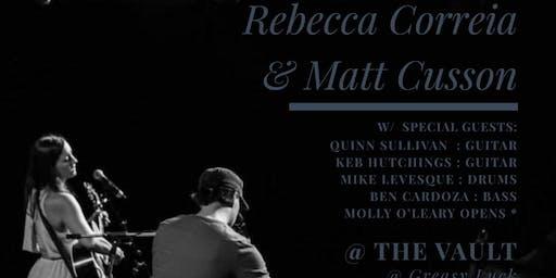 Rebecca Correia & Matt Cusson