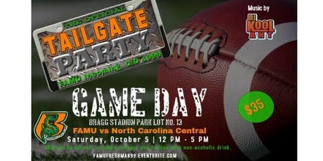 GAME DAY: The Official Tailgate Party FAMU Freshman C/O 1999 + SWAG BAG tickets