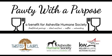 """Pawty"" With A Purpose Tasting Event (benefiting Asheville Humane Society) tickets"