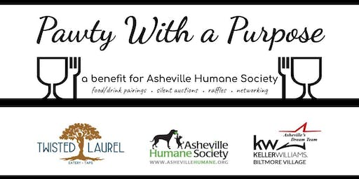 """Pawty"" With A Purpose Tasting Event (benefiting Asheville Humane Society)"