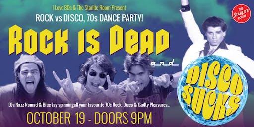 Rock vs Disco 70s Dance Party
