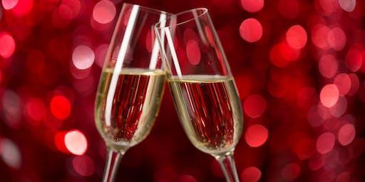 New Year's Eve Sparkling Wine Pairing Flight