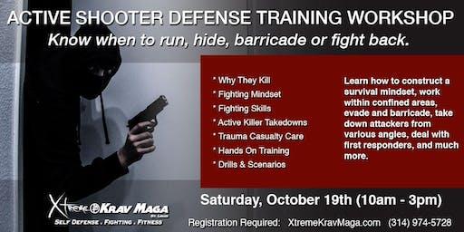Active Shooter Defense Training Workshop