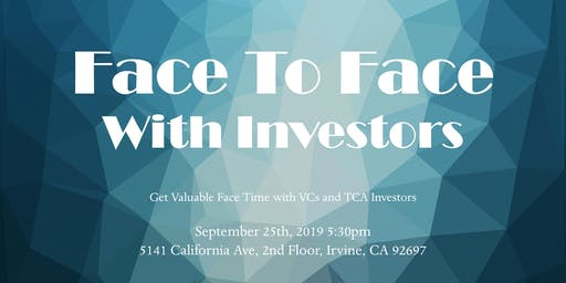 Face to Face with Investors
