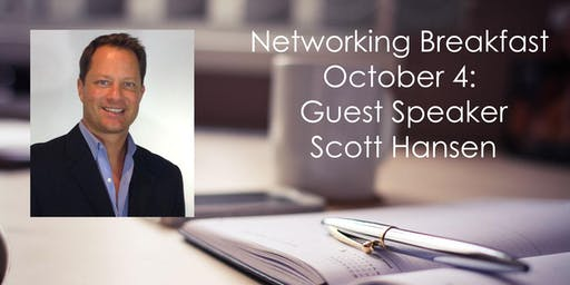 October 4th Breakfast Networking Event