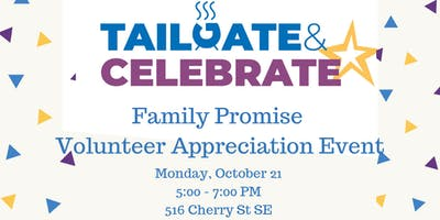 Tailgate & Celebrate: Volunteer Appreciation Event