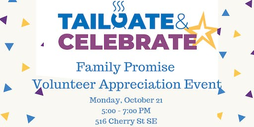 Tailgate & Celebrate: Volunteer Appreciation Event