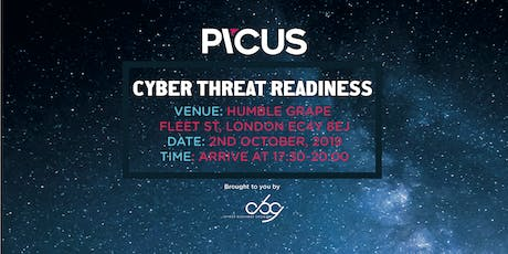 Cyber Threat Readiness with Picus - Wine Tasting and Food Pairing tickets