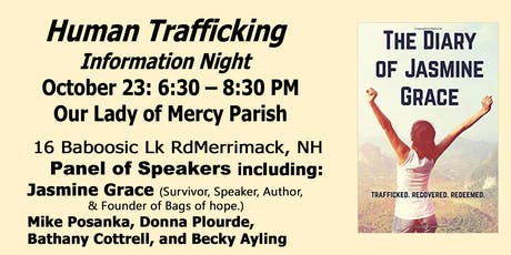 Human Trafficking Discussion tickets