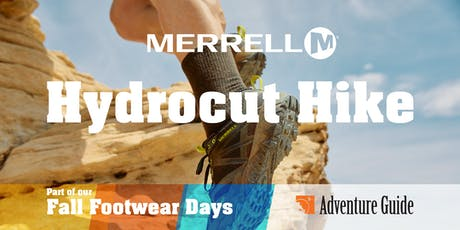 Hike the Hydrocut with Adventure Guide and Merrell  tickets