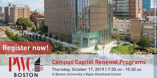 Higher Education Campus Capital Renewal Programs