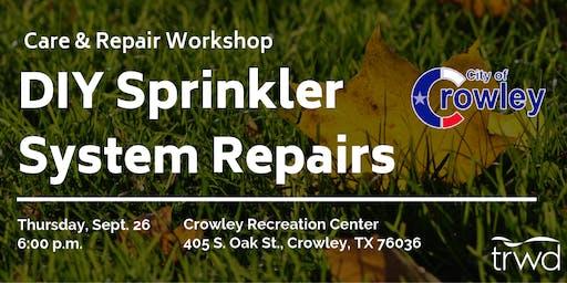 Care and Repair DIY Sprinkler Workshop