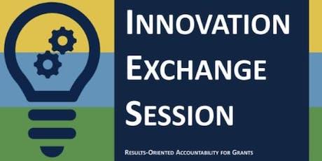September Grants Innovation Exchange Session tickets