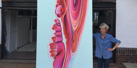 Nancy Wood resin art masterclass tickets