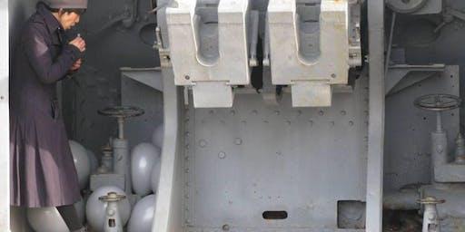 """""""Bombard"""": performance di Kimvi Nguyen, nel bunker antiaereo del Castello di Udine"""