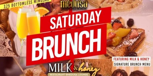 Milk & Honey Brunch Party @Medusa Lounge