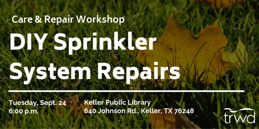 Care and Repair DIY Sprinkler Workshop