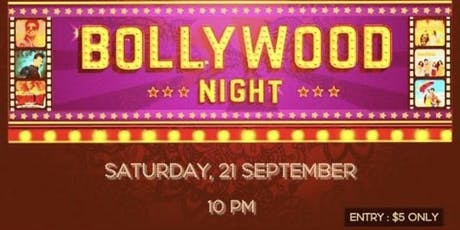 BOLLYWOOD MUSIC NIGHT PARTY BY PAULEEN tickets