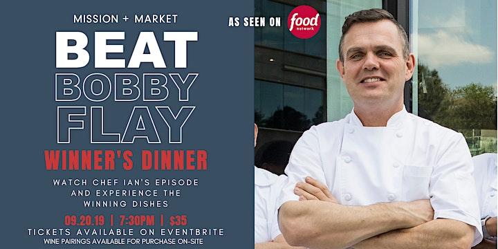 """Mission + Market's """"Beat Bobby Flay"""" Winner's Dinner image"""
