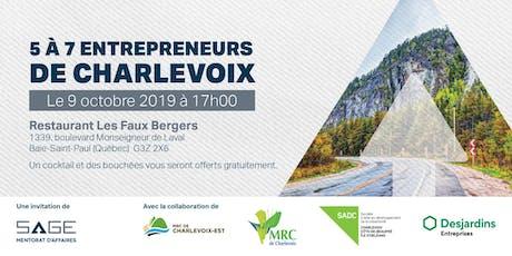 5 @ 7 Entrepreneurs de Charlevoix!  billets