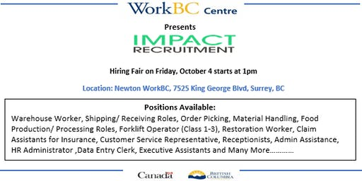 Impact Recruitment Hiring Fair