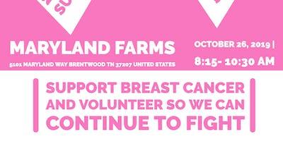 Susan G. Komen Breast Cancer Walk Volunteer