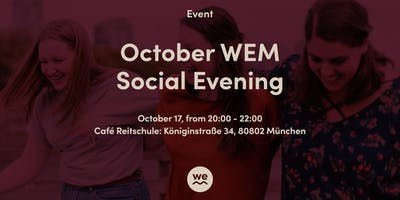 October WEM Social Evening