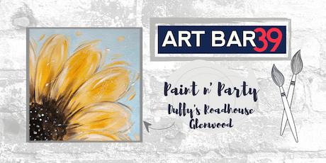 Glenwood Public Paint & Sip   ART BAR 39 & Duffy's   Fall Sunflower tickets