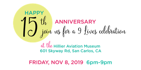 15-Year Anniversary Celebration tickets
