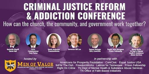 Criminal Justice Reform & Addiction Conference