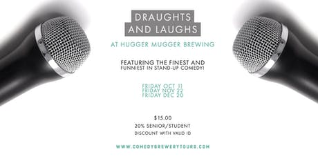 Draughts and Laughs: Comedy at Hugger Mugger!  tickets