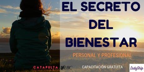 Mujeres 20-20:  El secreto del bienestar personal y profesional entradas