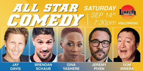 Jeremy Piven, Gina Yashere, and more - Special Event:  All-Star Comedy tickets