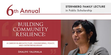 6th Annual Sternberg Family Lecture in Public Scholarship tickets