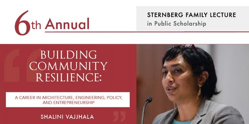 6th Annual Sternberg Family Lecture in Public Scholarship