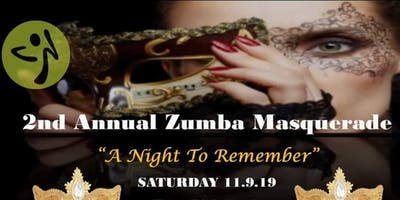 2nd Annual Zumba Masquerade