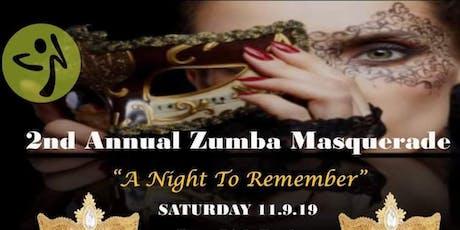 2nd Annual Zumba Masquerade  tickets