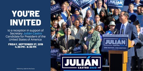 Julián Castro One Nation One Destiny tickets